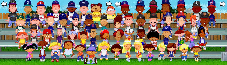 Top 10 Backyard Baseball Characters and their MLB ...